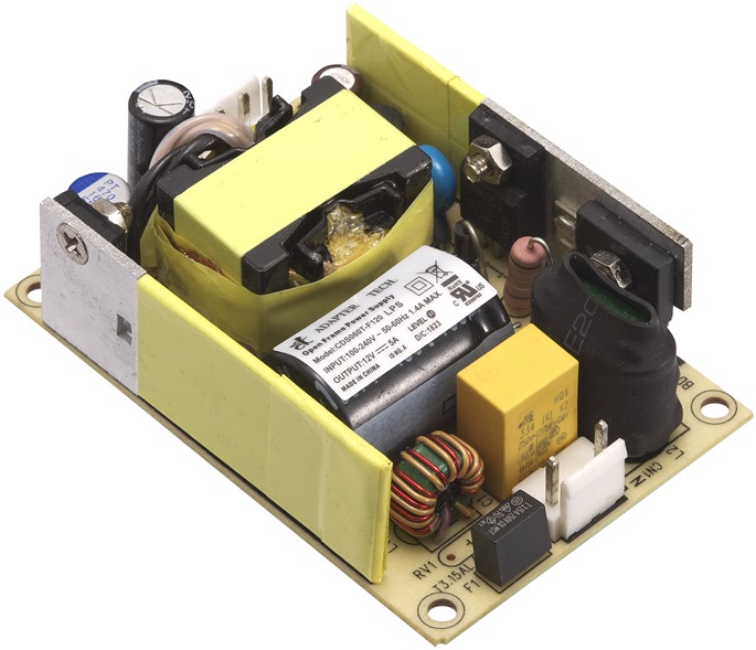 I.T.E. Open Frame Power Supply 60 Watt Small Size Series